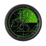 Radar2 Large Wall Clock