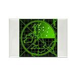 Radar2 Rectangle Magnet (100 pack)