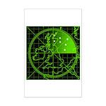 Radar2 Mini Poster Print
