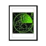 Radar2 Framed Panel Print