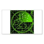 Radar2 Sticker (Rectangle)