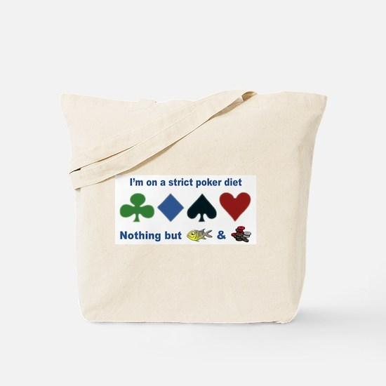 Poker Diet Tote Bag