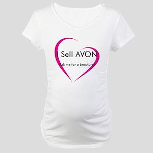 Avon Lady Maternity T-Shirt