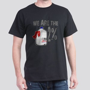 Occupy - We are the 2 % Milk Dark T-Shirt