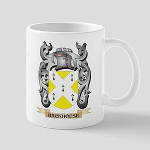 Backhouse Family Crest - Backhouse Coat of Ar Mugs