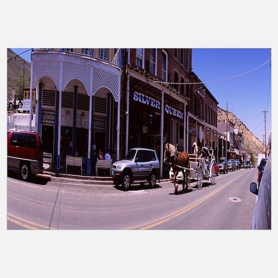 Stores at the roadside, Virginia City, Storey Coun