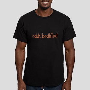 Odds Bodkins Men's Fitted T-Shirt (dark)