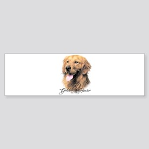 Golden Retriever Sticker (Bumper)
