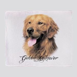 Golden Retriever Throw Blanket