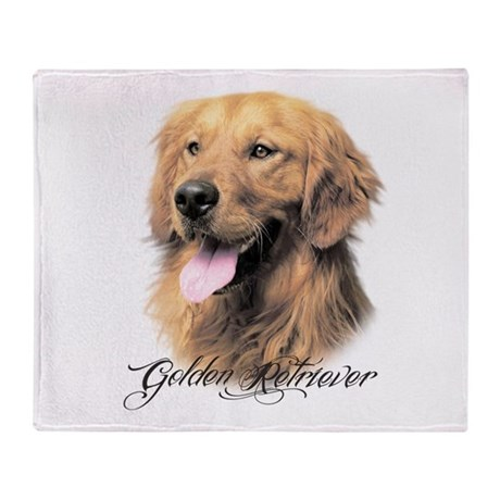 Golden Retriever Throw Blanket By Daecugifts