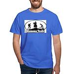 Dark T-Shirt silhouette logo
