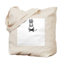WH Robinson's Puss in Boots Tote Bag
