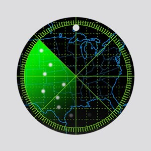 Radar3 Ornament (Round)