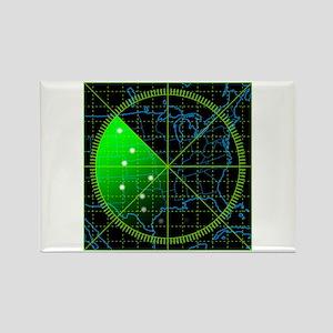 Radar3 Rectangle Magnet