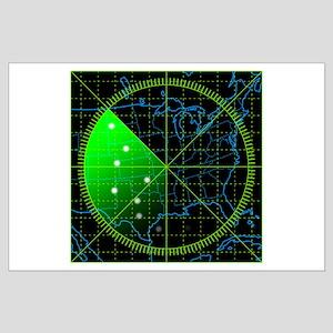 Radar3 Large Poster