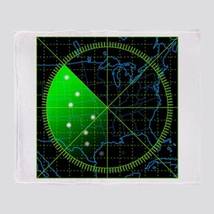 Radar3 Throw Blanket