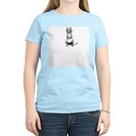 WH Robinson's Puss in Boots Women's Pink T-Shirt