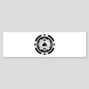 Casino Chip Sticker (Bumper)