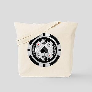 Casino Chip Tote Bag