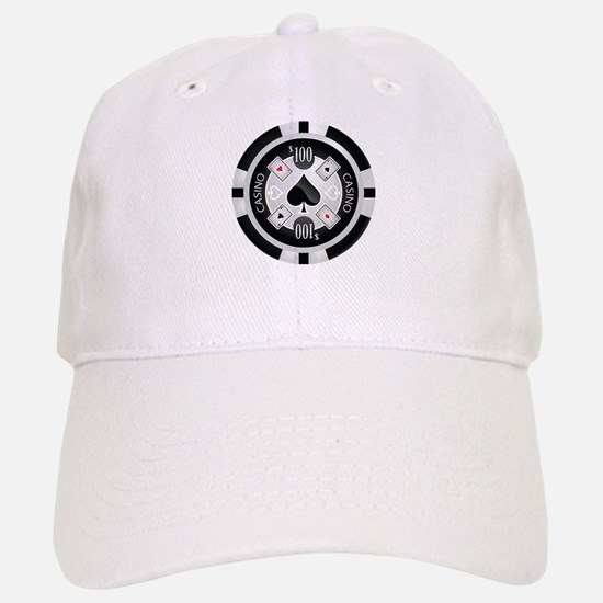 Casino Chip Baseball Baseball Cap