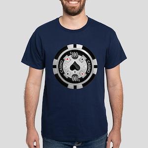 Casino Chip Dark T-Shirt