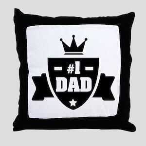 NR 1 DAD Throw Pillow