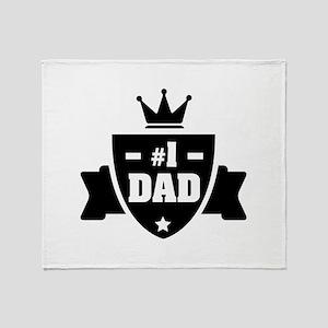 NR 1 DAD Throw Blanket