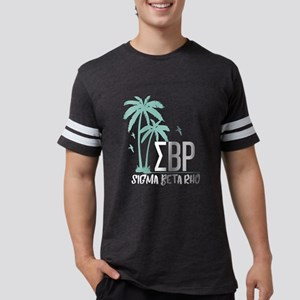 Sigma Beta Rho Palm Trees Mens Football T-Shirts