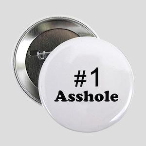 """NR 1 ASSHOLE 2.25"""" Button"""