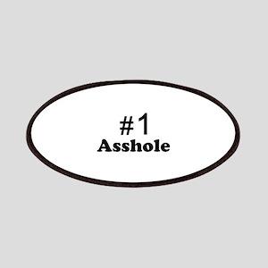 NR 1 ASSHOLE Patches
