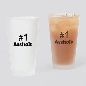 NR 1 ASSHOLE Drinking Glass