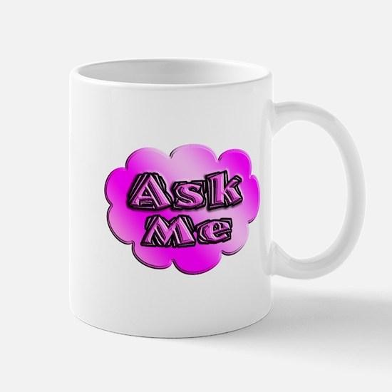 ask me cloud Mugs