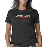 livin life black Women's Classic T-Shirt