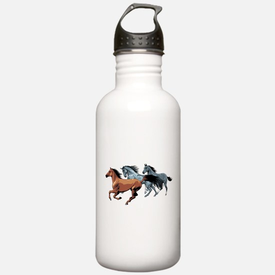 Horses Water Bottle