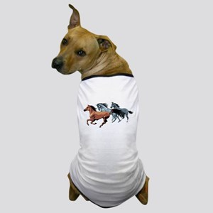 Horses Dog T-Shirt