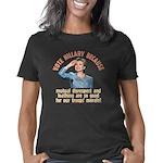 Hillary because 7 trsp Women's Classic T-Shirt