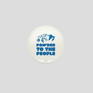 Powder To The People Mini Button