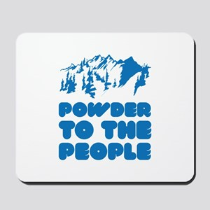 Powder To The People Mousepad