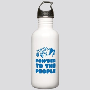 Powder To The People Stainless Water Bottle 1.0L