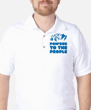 Powder To The People Golf Shirt