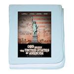 Religious Liberty baby blanket