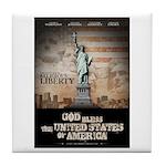Religious Liberty Tile Coaster
