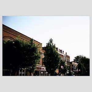 Buildings along the street, Oberlin, Ohio