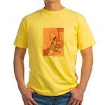 WH Robinson's Blue Beard Yellow T-Shirt