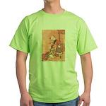 WH Robinson's Blue Beard Green T-Shirt