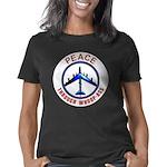 Peace through whoopass trs Women's Classic T-Shirt