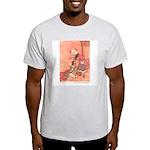 WH Robinson's Blue Beard Ash Grey T-Shirt