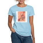 WH Robinson's Blue Beard Women's Pink T-Shirt