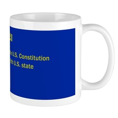 Mug: New Hampshire ratified the U.S. Constitution