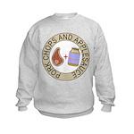 Pork Chops & Applesauce Kids Sweatshirt